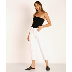 Levi's White Wedgie Straight Cold Feet Sz. 26